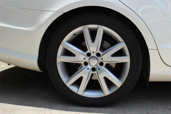 奔驰cls300 18寸烤漆轮毂电镀   前整车效果图   奔驰cls高清图片