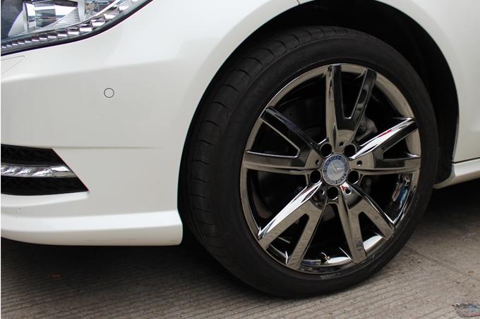 电镀咨询热线:18101644487   奔驰cls300 18寸烤漆轮毂电镀高清图片